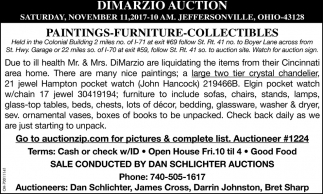 Dimarzio Auction