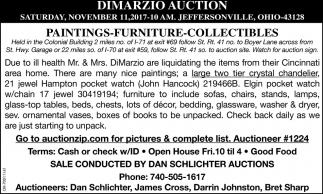 Dimarzio Auction