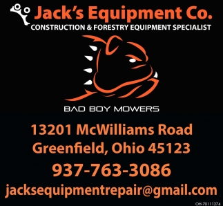 Construction & Forestry Equipment Specialist