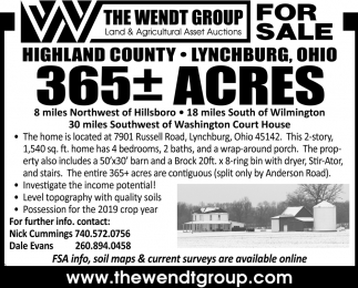 365 Acres for Sale, Lynchburg