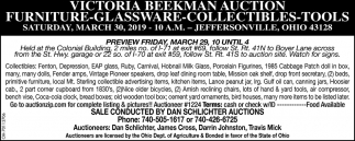 Victoria Beekman Auction