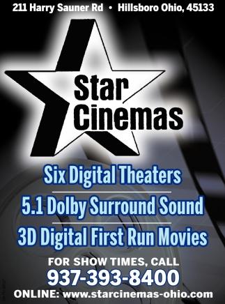Six Digital Theaters