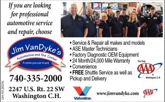 Complete Automotive Service & Repair + Tire