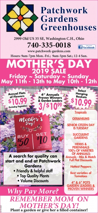 Mother's Day 2019 Sale