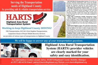 Serving the Transportation  needs of Highland County