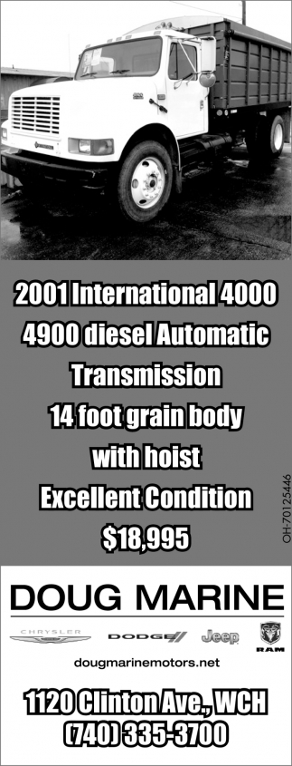 2001 International 4000