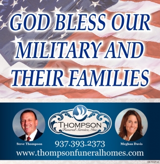 God Bless Our Military And Their Families