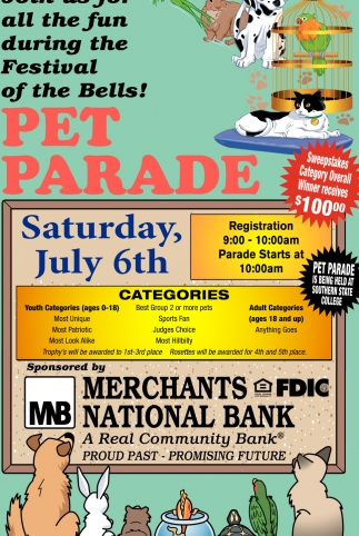 Pet Parade July 6th