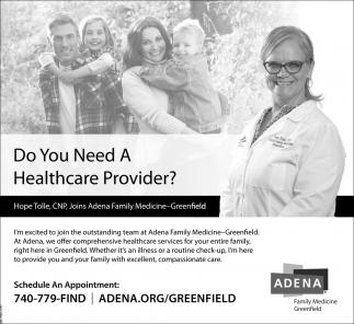 Do You Need A Healthcare Provider?