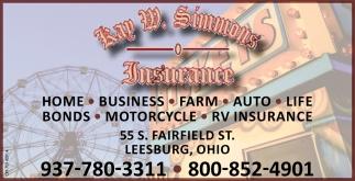 Home, Business, Farm, Auto, Life
