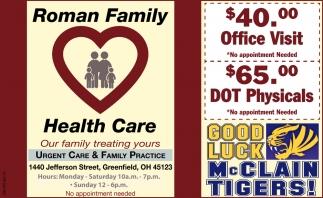 Urgent Care & Family Practice