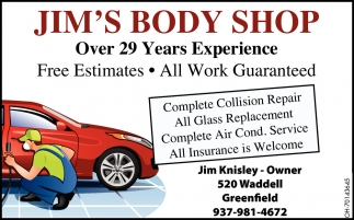 Free Estimates - All Work Guaranteed