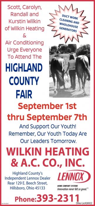 Highland county Fair
