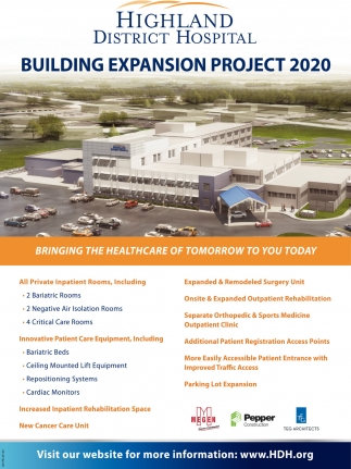 Building Expansion Ptoject 2020