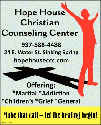Make that call - let the healing begin!