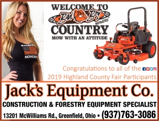 Congratulations to all of the 2019 Highland County Fair Participants