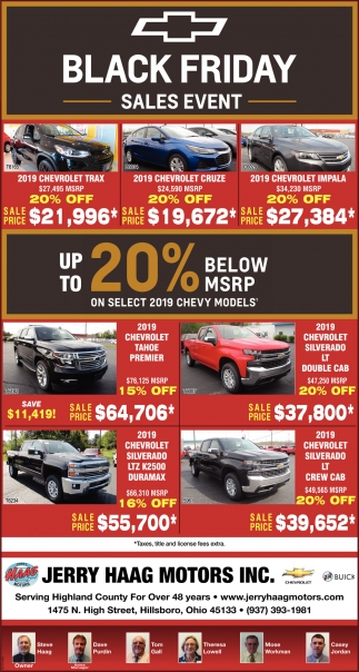 Black Friday - Sales Event