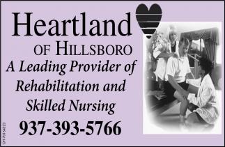 A Leading Provider of Rehabilitation and Skilled Nursing