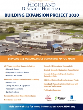 Building Expansion Project 2020