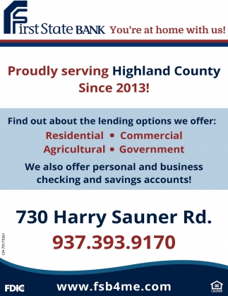 Proudly  serving Highland County Since 2013!