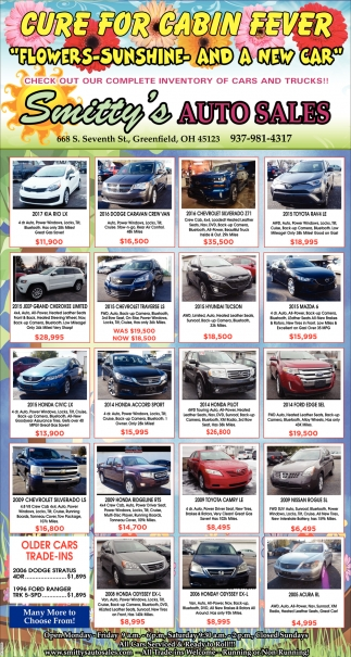 Check out ourcomplete inventory of cars and trucks!