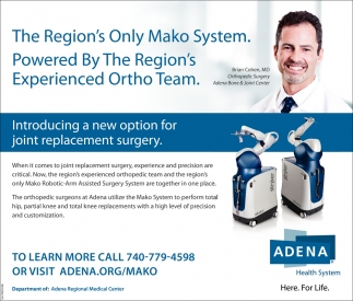 Mako Robotic Aem Assited Surgery System