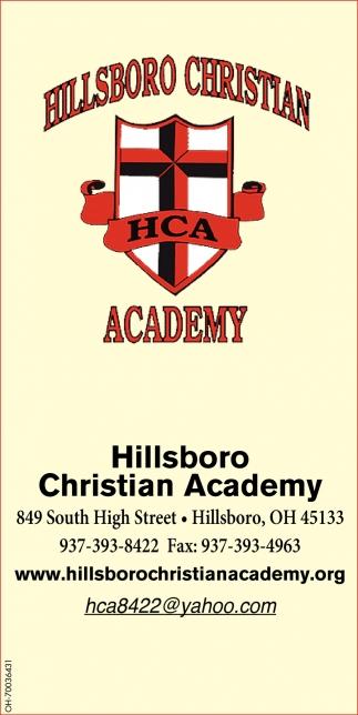 HCA Hillsboro Christian Academy