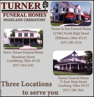 Funeral Homes Turner