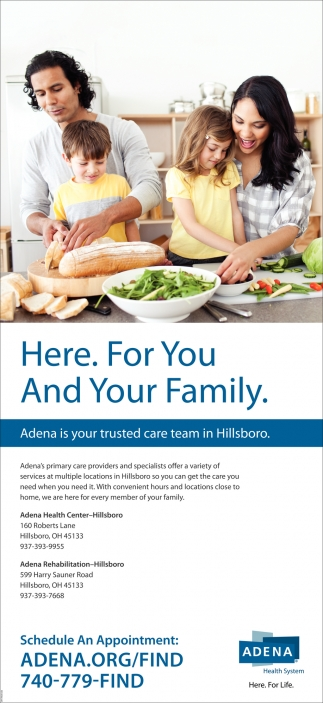 Adena is your trusted care team