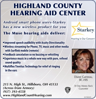 Highland County Hearing Aid Center