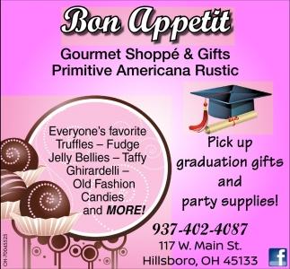 Gourmet Shoppé & Gifts Primitive Americana Rustic
