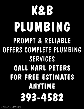 Prompt and reliable offers complete plumbing services
