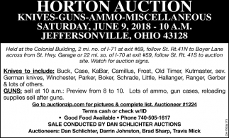 Horton Auction