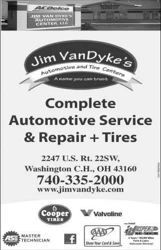 Complete Automotive Service & Repair + Tire