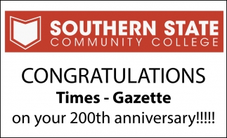 Congratulations Times Gazette