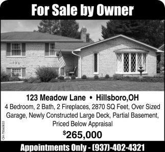 123 Meadow Lane, Hillsboro