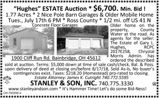 Hughes Estate Auction