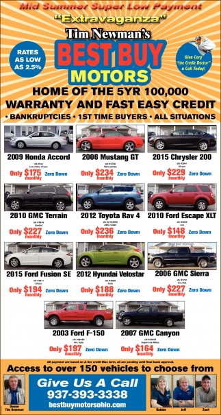 Mid Summer Super Low Payment Extravaganza
