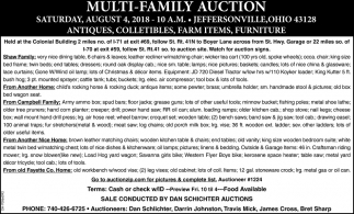 Multi-Family Auction