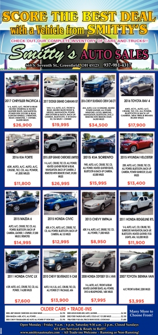 Smittys Auto Sales >> Score The Best Deal With A Vehicle From Smitty S Smitty S
