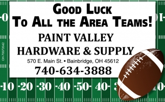 Good Luck to all the Area Teams!