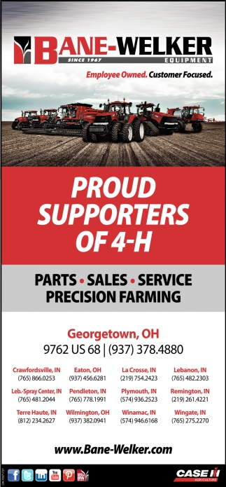 Proud Supporters of 4-H