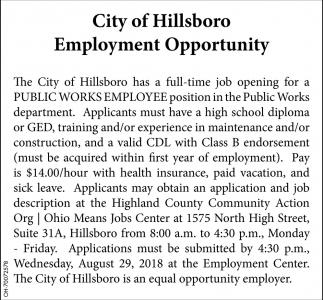 Public Works Employee