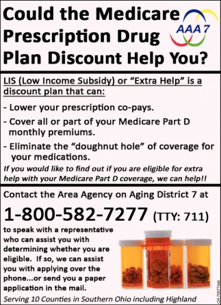 Medicare Prescription Drug Plan Discount