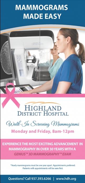 Mammograms Made Easy