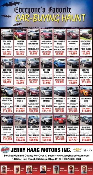 Everyone's Favorite Car-Buying Haunt