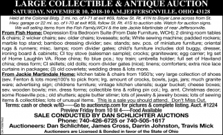 Large Collectibles & Antique Auction