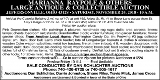 Large Antiques & Collectible Auction