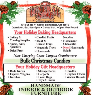 Your Holiday Baking Headquarters