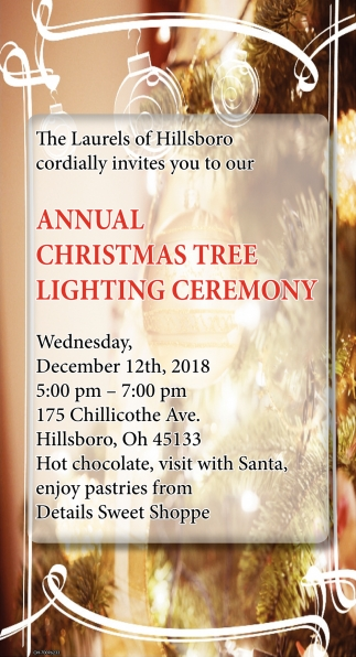 Annual Christmas Tree Lighting Ceremony